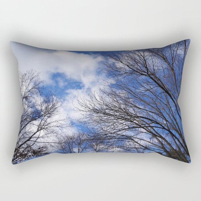Reaching for the clouds Rectangular Pillow