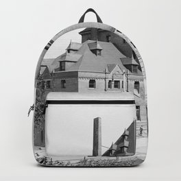Canadian Pacific Railway station, Vancouver, British Columbia Backpack