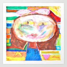 Mrs. GRUMBLiNG Art Print