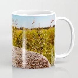 Empty Prairie Fencepost Coffee Mug