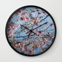 Water...Color (variation - abstract nature photography series) Wall Clock