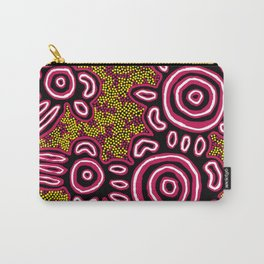 You Belong - Authentic Aboriginal Art Carry-All Pouch