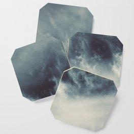 Ocean of clouds by Teresa Thompson Coaster