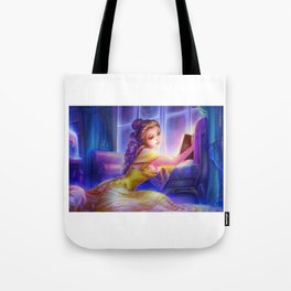 Sleepless Nights-Belle Tote Bag