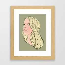 Chloe Sevigny Framed Art Print