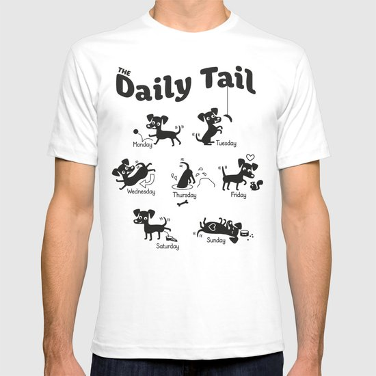 The Daily Tail Dog T-shirt