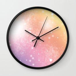 Pretty Colours ooo Wall Clock