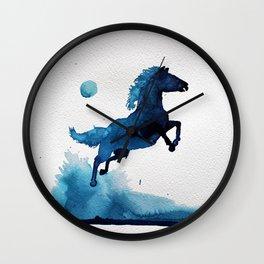 Equus ferus caballus Wall Clock