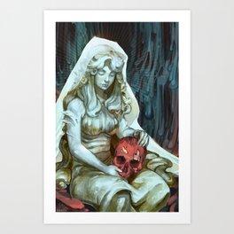 We All Bleed Art Print