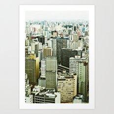 Sao Paulo Art Print
