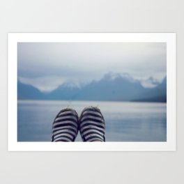 Glacial Feet Art Print