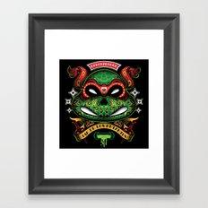 Dia De Los Mutantes Raphael Framed Art Print