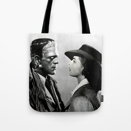 FRANKENSTEIN IN CASABLANCA Tote Bag
