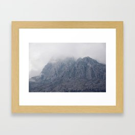 There Was Once, And There Was Only Once (Kotor, Montenegro) Framed Art Print