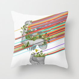Glare Throw Pillow