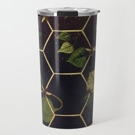 Bees in Space Travel Mug