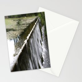 Water falling Stationery Cards