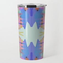 Colorfall Pattern Travel Mug
