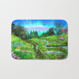Meadow of Life Bath Mat