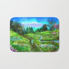 Meadow of Life Bath Mat