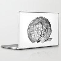 bambi Laptop & iPad Skins featuring Bambi by Cheyenne illustration