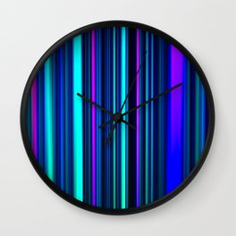 Deep Ocean LED Sculpture Light Painting Wall Clock