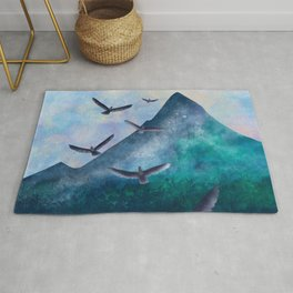 The Flight of The Eagles Rug
