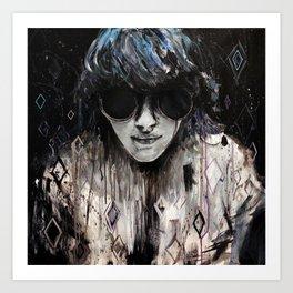Black Mirror Art Print