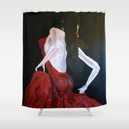 Enlightened Beauty Shower Curtain