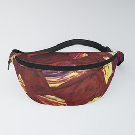Yellow Square Fanny Pack