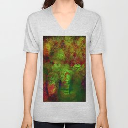 The clairvoyant of Harlem Unisex V-Neck