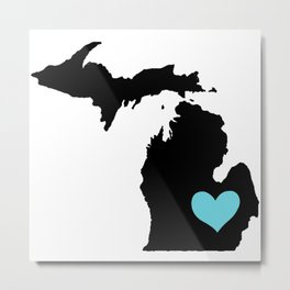 Home Is Where The Heart Is. Metal Print