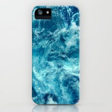 Ocean is shaking iPhone SE Slim Case