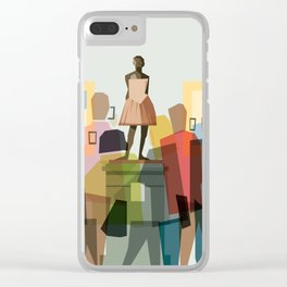 Degas ballerina at the Met Clear iPhone Case