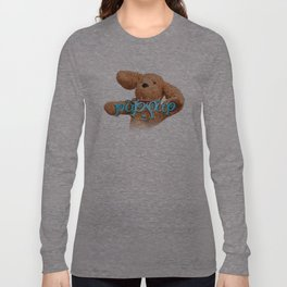 The Adventures of Puppup with Title Long Sleeve T-shirt