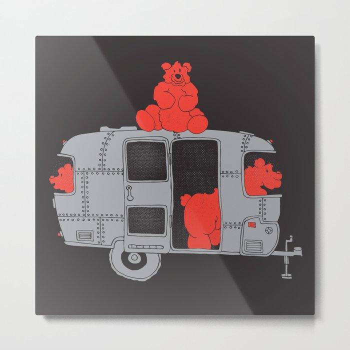 Bearstream... Metal Print