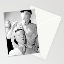 Saving Face Stationery Cards