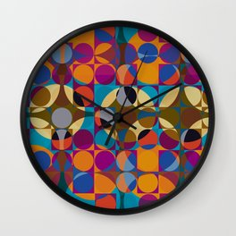 Multi Retro Wall Clock