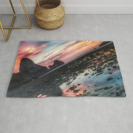 Pink Sunset in Thailand Rug