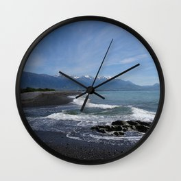 Kaikoura coast Wall Clock