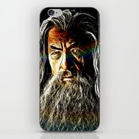 gandalf iPhone & iPod Skins featuring Gandalf by D77 The DigArtisT
