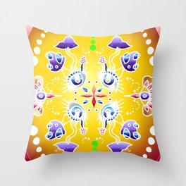 Rainbow Visions  Throw Pillow