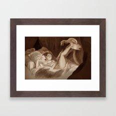 La Gimbette Framed Art Print