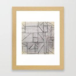 Just Lines 2 Framed Art Print
