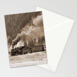 Steam Hauled Train - Engine 486 Stationery Cards