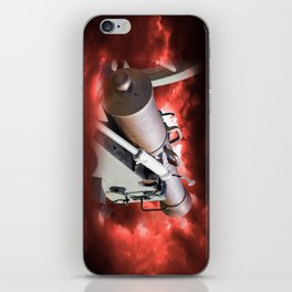 Cannon and bombing iPhone Skin