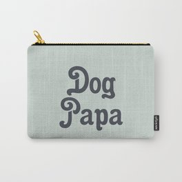 Retro Dog Papa Carry-All Pouch