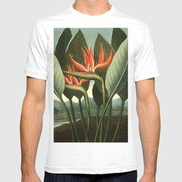 Birds of Paradise : Temple of Flora T-shirt