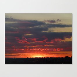 Sunset/Cityscape 1 Canvas Print