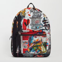 Graffiti Wall Backpack
